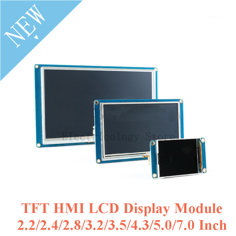 New 4.3 inch Capacitive Touch Screen HMI I2C LCD Display Module for  Arduino