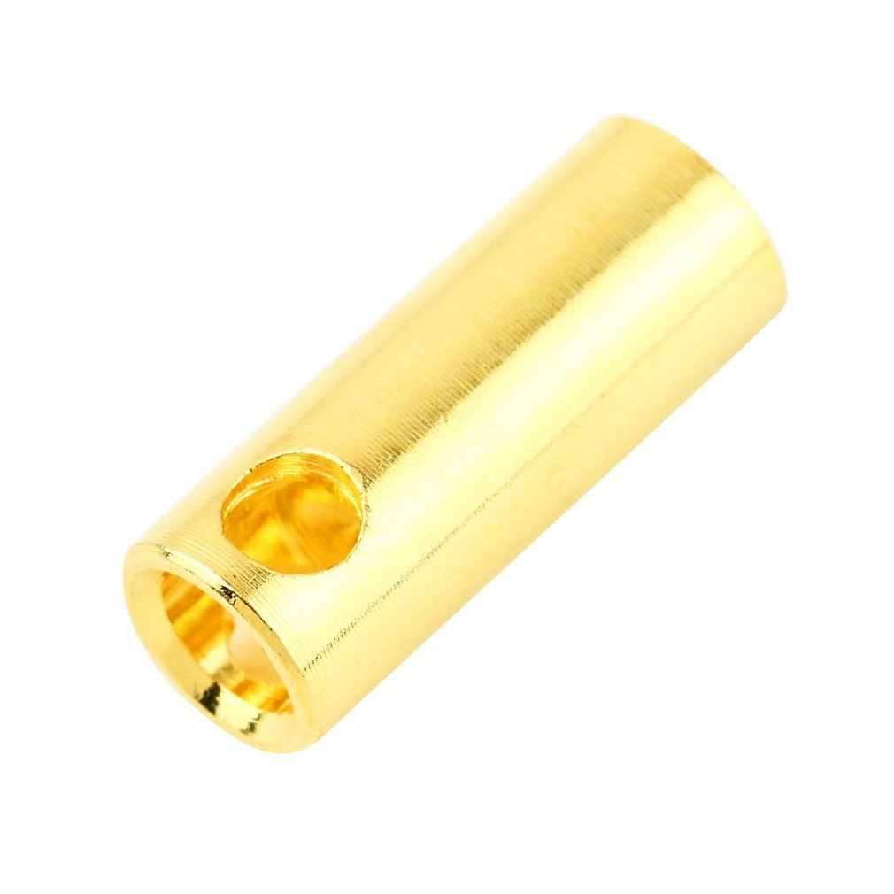 Nowy 5.5 kobiet złoty Bullet Banana złącza wtykowe baterii RC elektroniczny hak