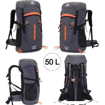 50L Travel Bag Camping Backpack Hiking Army Sport Bag  1