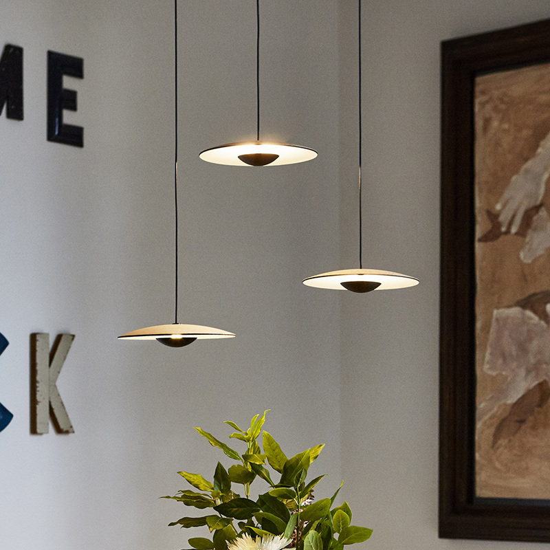 Image 3 - Famous designer personality creative single  restaurant pendant lamp simple Nordic style cafe dining table fashion pendant lightPendant Lights   -