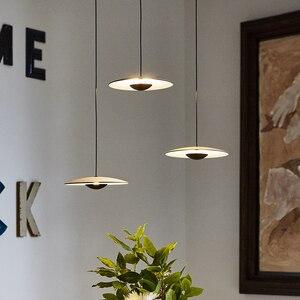 Image 3 - מפורסם מעצב אישיות יחידה creative מסעדת תליון מנורת פשוט נורדי סגנון קפה שולחן אוכל אופנה תליון אור