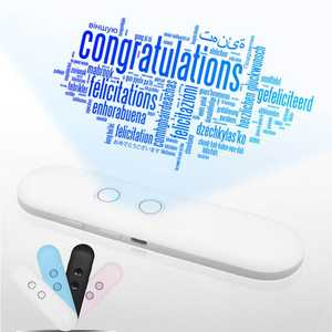 Voice-Translator Bluetooth-Tradutor Business-Travelling Instant-Real-Time Smart Portable