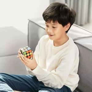 Image 3 - 샤오미 mi jia 스마트 블루투스 매직 큐브 게이트웨이 링키지 3x3x3 mi 스퀘어 마그네틱 큐브 퍼즐 과학 교육 교육 장난감 선물