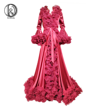 Don&Judy 2020 New Long Sleeve Baby Shower Maternity Dress Party Dresses Formal Pregnant Photo Gown for Women Photography