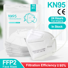 Facial-Face-Mask Protective-Health-Care FFP2 Mascarillas 5-LAYERS-FILTER Breathable 95%Mouth-Masks