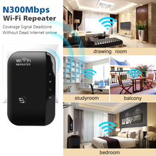 Wireless Wifi Repeater Wifi Range Extender Wi-Fi Signal Amplifier 300Mbps WiFi Booster 802 11n b g Wi Fi Ultraboost Access Point cheap kebidumei 2 4G 10 100 1000Mbps 300Mbps Wifi Repeater Wi-Fi 802 11g Wi-Fi 802 11b Wi-Fi 802 11n 300 Mbps 1 x10 100 1000Mbps