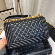 Luxury Brand Boy Bag Women Real Leather Handbags Lambskin Sh