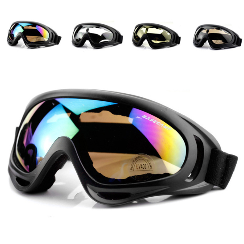 Winter Skiing Goggles Snow Sports Snowboard Anti-fog Snowmobile Windproof Dustproof Glasses UV400 Skate Ski Sunglasses Eyewear