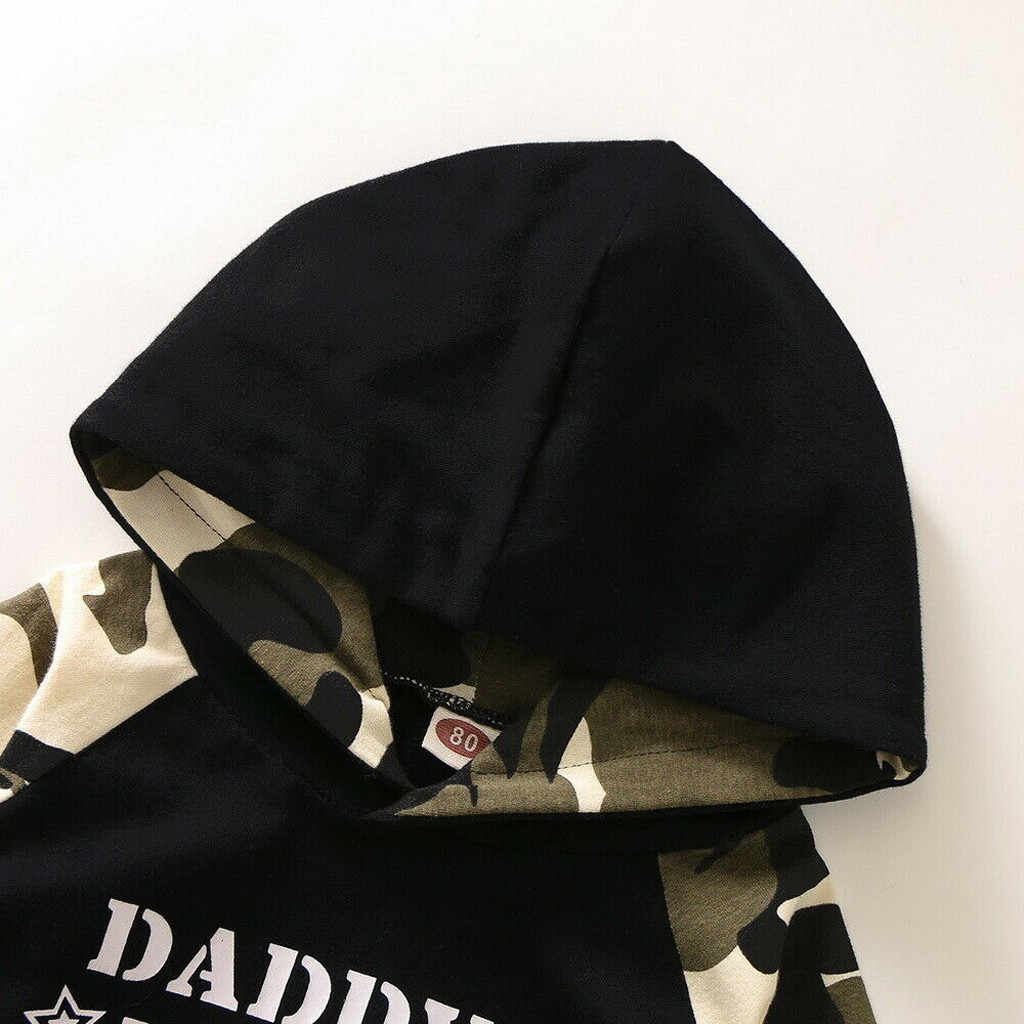 Crianças roupas 2020 outono inverno da criança dos meninos roupas carta casual esportes hoodie camiseta topos + calças de camuflagem conjunto