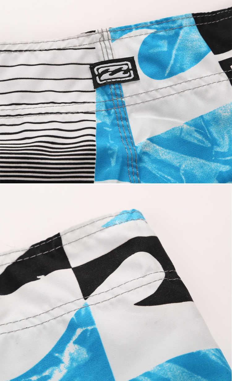 2020 marka strój kąpielowy kąpielówki męskie szybkie pranie Surf plaża szorty sportowe stroje kąpielowe męskie szorty Man Gym bermudy strój kąpielowy