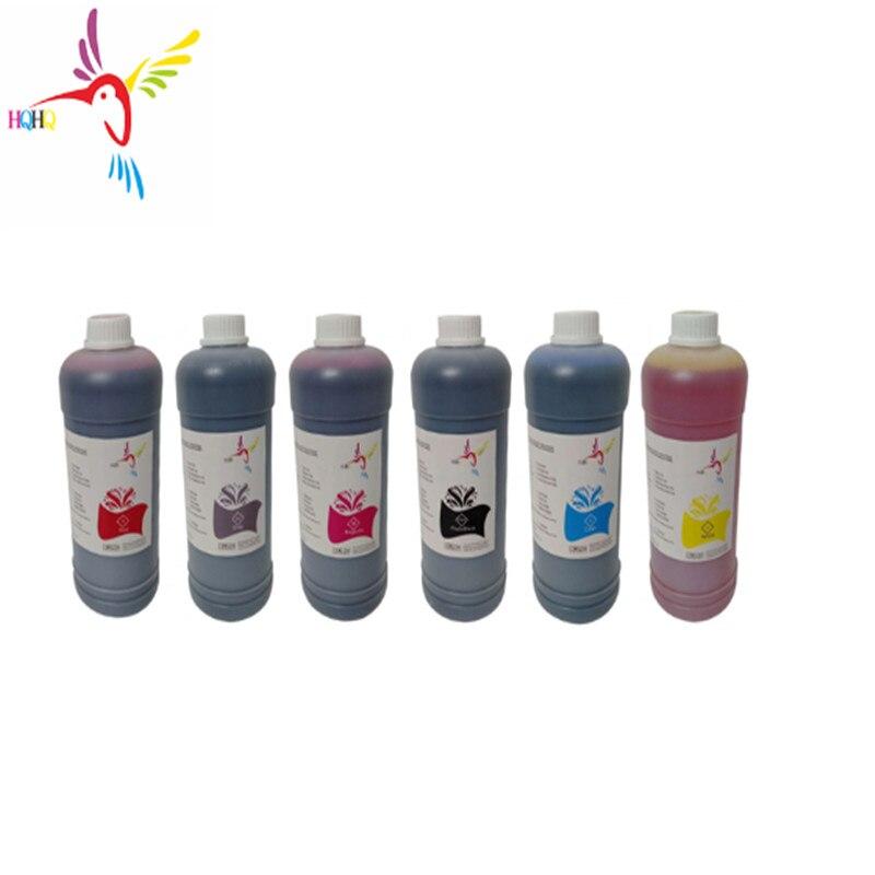 Bilgisayar ve Ofis'ten Mürekkep dolum kitleri'de Pigment mürekkep için toplu mürekkep epson 6 renkler 500ml su bazlı pigment mürekkep epson xp 15000 yazıcı pigment mürekkep için Pigment mürekkep için epson xp15000 title=