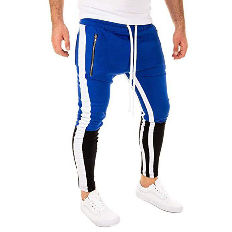 2019 Men's Casual Pants All Seasons Hot Selling Men Mixed Colors Hip Hop Fitness Jogger Large Size Athletic Pants 0220