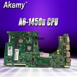 PCKF0 0PCKF CN 0PCKF0 do Dell Inspiron 3135 laptopa płyty głównej płyta główna w DA0ZM5MB8D0 z A6 1450u CPU płyta główna pełny test w Płyty główne od Komputer i biuro na