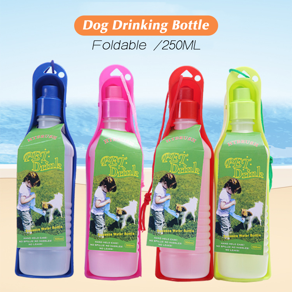 250ml font b Pet b font Folding Drinker font b Pet b font Dog Cat Outdoor