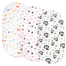 Bassinet Sheet Super Stretch Fitted Cradle Fitted Sheets for Bassinet Pads/Mattress, for Boys Girls,Unisex,Ultra Soft 82*41cm