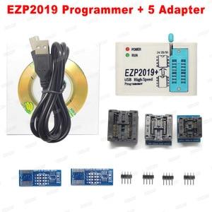 Image 2 - Factory Price! Newest Version EZP2019 High speed USB SPI Programmer Support24 25 93 EEPROM 25 Flash BIOS Chip+5 Socket