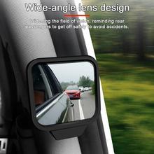 Auto Zwei-reihe Innen Rückspiegel B-säule Beobachtung Spiegel Hilfs Spiegel Baby Spiegel