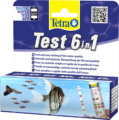Tetra Test 6 в 1 GH/KH/NO2/NO3/pH/Cl , 25 шт.