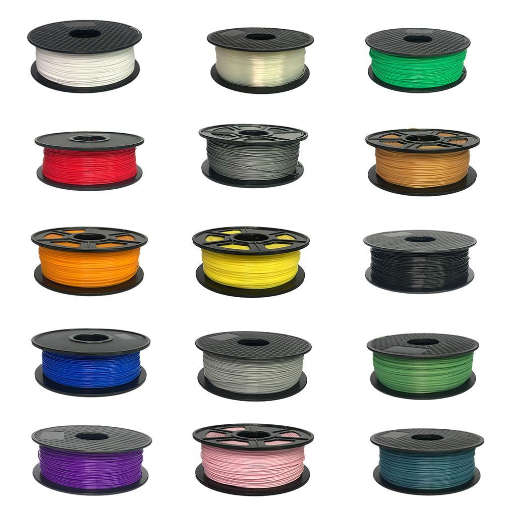 Filamento de impresora 3D PLA 1,75mm/3,0mm 1kg Material de consumibles de plástico 3d filamento 3d USA natural PLA