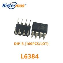 100 個 L6384 DIP8 オリジナル
