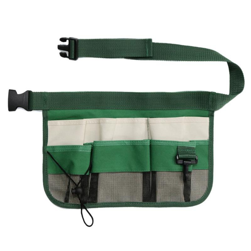 Garden Cleaning Tool Bag With Cover Tool Belt For Screwdriver Pouch Durable Waist Tool Holder Green
