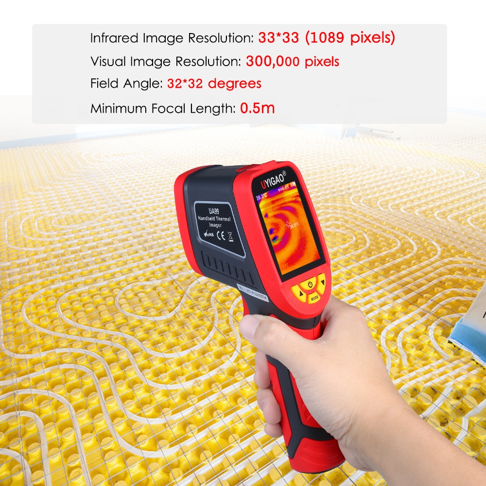Digital Mini Infrared Thermal Camera Made With ABS Material For Measuring Tools 16
