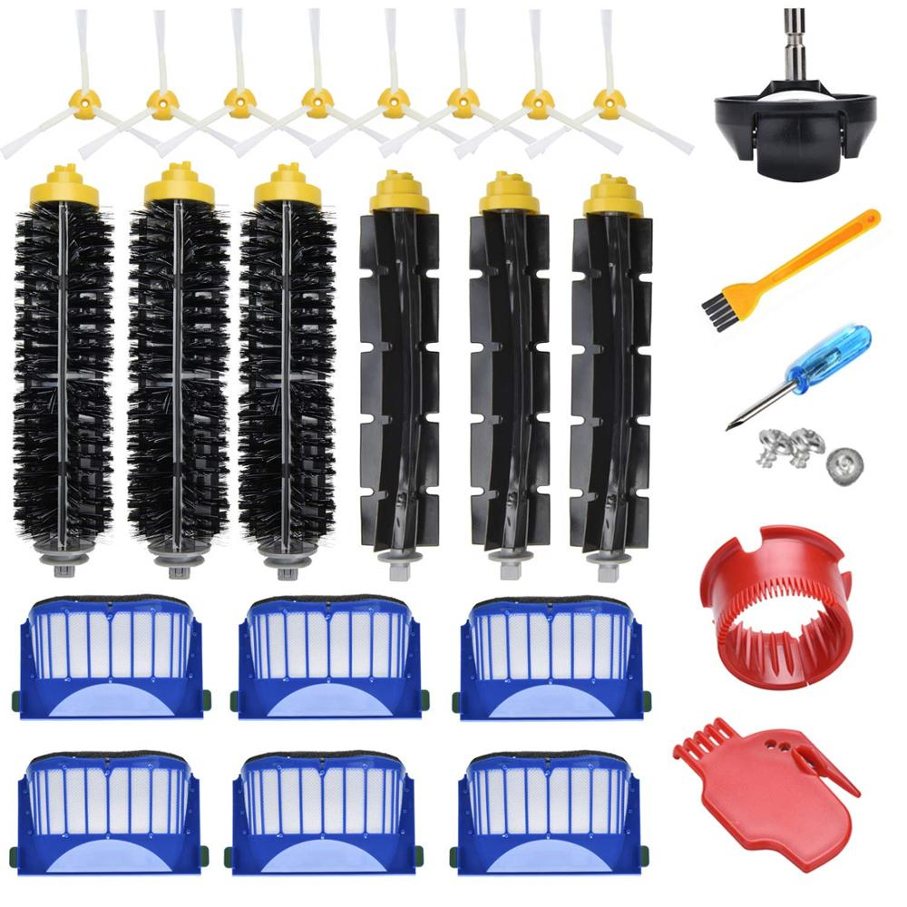 Replacement Accessories Kit For IRobot Roomba Vacuum Cleaner 600 Series 690 680 660 651 650 & 500 Series Parts