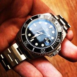 Часы PAGANI мужские, автоматические, механические, водонепроницаемые, из нержавеющей стали, для бизнеса, 2020