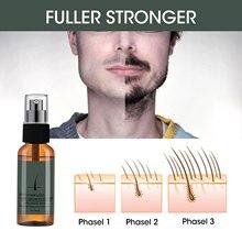 Beard-Oil Growth-Spray 30ml Oil-Lasting Moisturizing Organic Beauty Anti-Flaking Thick
