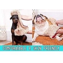 Для кожи супер сухое полотенце для домашних животных водопоглощающее банное полотенце для длинношерстных собак быстросохнущее полотенце s дропшиппинг#2240