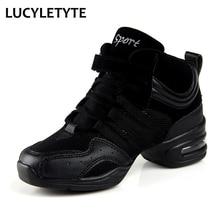 Baskets à semelle souple pour femmes, chaussures de sport, chaussures de pratique, modernes pour danse, Jazz