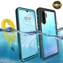 Für Huawei P20 P30 Pro Wasserdicht IP68 Tauchen Schwimmen Beweis Staubdicht Telefon Fall für Nova 3e 4e Mate 20 30 pro Outdoor Sport Coque