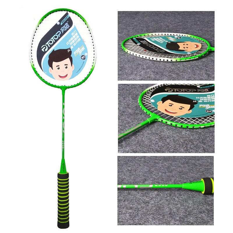 Nylon Sporting Goods Racket Badminton Racket Sports Racket Ferroalloy Lightweight