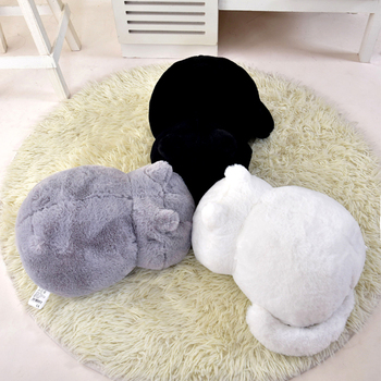 Hot Kawaii Plush Cat Toys Stuffed Cute Shadow Dolls Kids Gift Lovely Animal Home Decoration Soft Pillows Birthday Christmas gift 28cm super cute sitting mother and baby koalas plush toys stuffed koalas dolls kawaii kids toys soft pillow lovely birthday gift