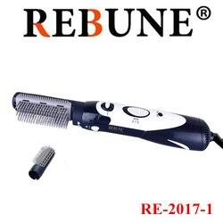 Secador de pelo multifuncional REBUNE 110V-220V, herramientas de Nuevo estilo, cepillo de pelo potente