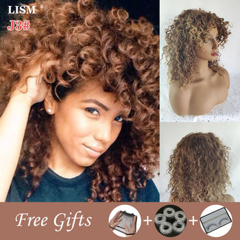 цена на Cosplay Wigs for Black Women Synthetic Lace Pelucas De Mujer Perruque Femme Postiche Cheveux Afro Tresse Africaine Wig Bang