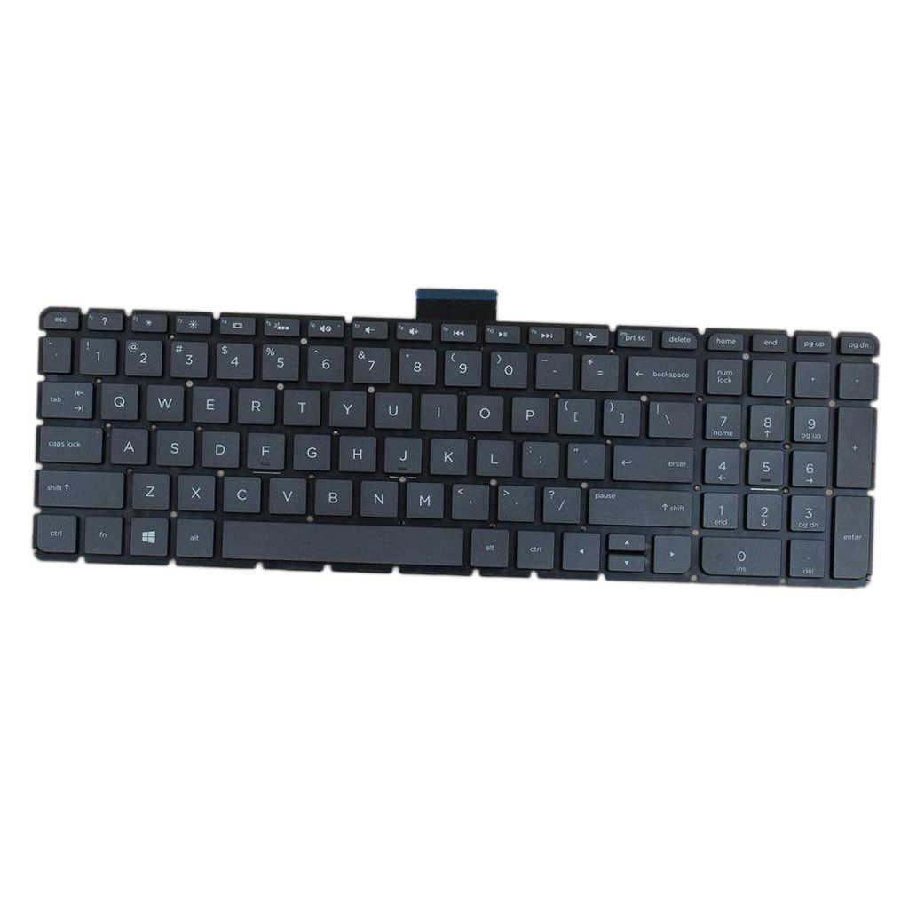 استبدال الإنكليزية تخطيط محمول PC لوحة المفاتيح مع الخلفية ل HP الحسد M6-W M6-W000 M6-W100 X360 عالية الجودة