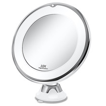 Makeup Vanity Mirror With 10X Lights LED Lighted Portable Hand Cosmetic Magnification mirror Light up Mirrors VIP Dropshipping(China)