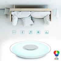 Modern LED Ceiling Lights RGB APP Dimmable lighting light 36W 52W Music Bluetooth light for bedroom Living Room Ceiling Lamp