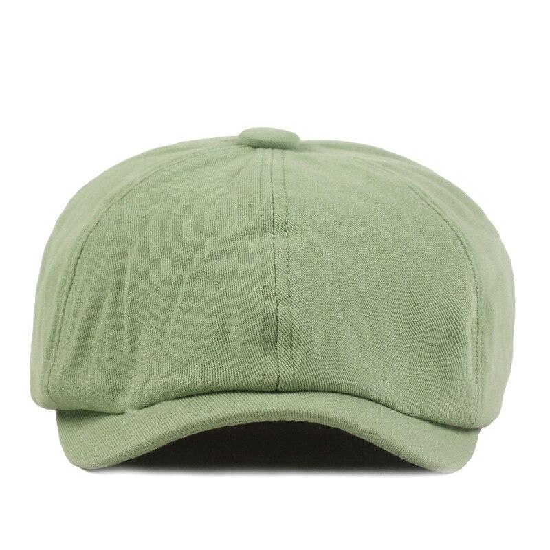 Fashion Spring Summer cotton Beret Caps for Men Women Cotton Sun Hat Unisex Octagonal Cap Vintage Outdoor sports Hats gorras