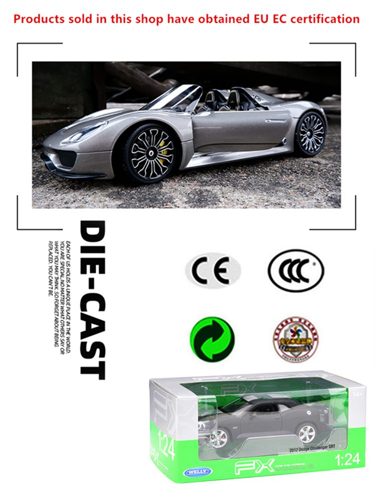 Welly 1:24 diecast legering model auto DMC-12 DeLorean tijdmachine - Auto's en voertuigen - Foto 6