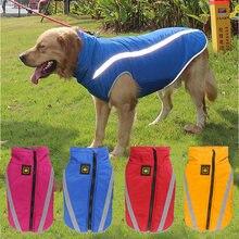 Зимняя одежда для больших собак теплая водонепроницаемая куртка