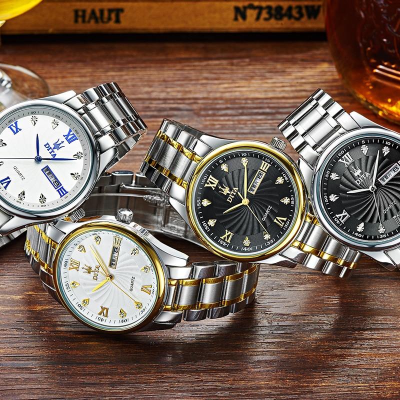 High Quality Ladies Quartz Watch Women Top Brand Luxury Gold Movement Waterproof Date Sports Wrist Watches Relogio Feminino