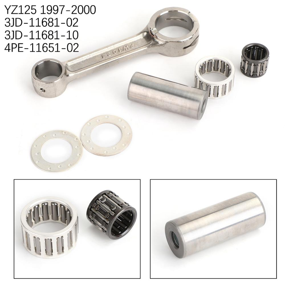 Artudatech Engine Connecting Rod Kit For Yamaha YZ125 <font><b>YZ</b></font> <font><b>125</b></font> 1997 1998 <font><b>1999</b></font> 1998 <font><b>1999</b></font> 2000 Parts image