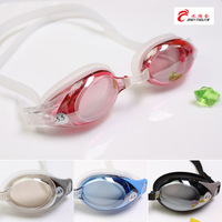 Sinca genuine produto galvanizado simples óculos de natação prescrição de vidro grande caixa impermeável anti nevoeiro óculos de natação para b Óculos de segurança     -