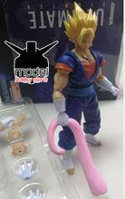 improve version Demoniacal Fit 2.0 Vegetto action figure toy Dragon Ball SSJ Ultimate Fighter Goku Vegeta DBZ 1/12 good quality