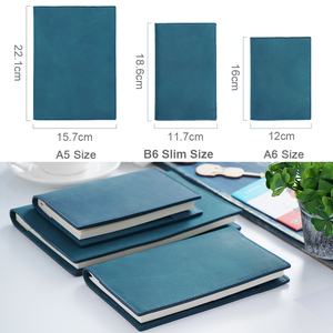 Image 2 - 100% Genuine Leather Notebook Planner Book Cover  A6 A5 B6 Slim For MD Diary Original Journal Drawing Sketchbook