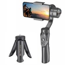 H4 3 eksenli telefon sabitleyici el Anti shake cep telefonu Gimbal sabitleyici cep telefonu eylem kamera Vlog Video kayıt