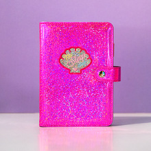 цены A6 Spiral Laser Diary 19*13.5cm DIY Colorful Planner Gift Colorful 80 Sheets Free Shipping