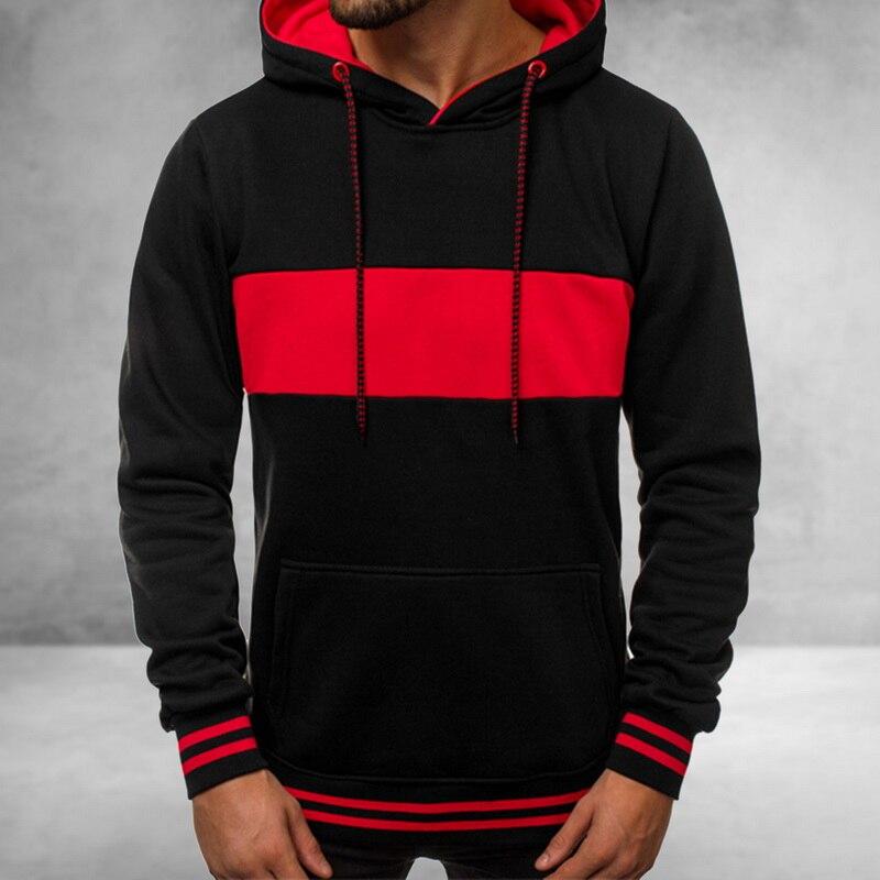 HEFLASHOR Толстовка для мужчин, пуловер для мужчин, цветной блок, хоп Топ, контрастный цвет, толстовки для мужчин, s пэчворк, толстовки, Ретро теплая толстовка с капюшоном|Толстовки и свитшоты|   | АлиЭкспресс